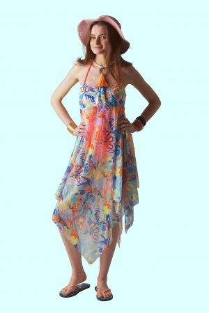 Dufy Pomegranate Sophie Sarongs Beachwear