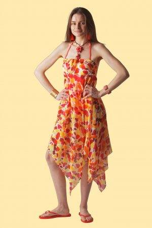 Tequila Sunrise Sophie Sarongs Beach cover-up