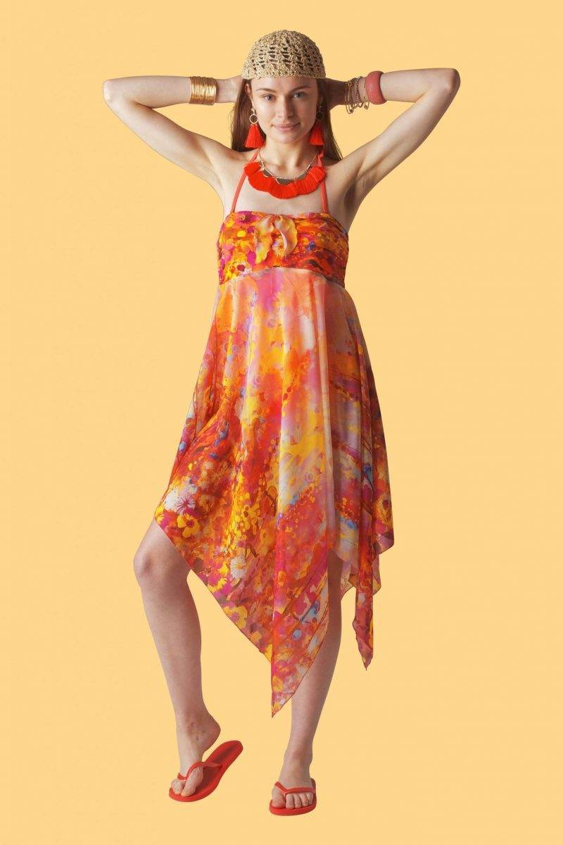 Sunset Sophie Sarongs Swimwear and Bathing suit cover up