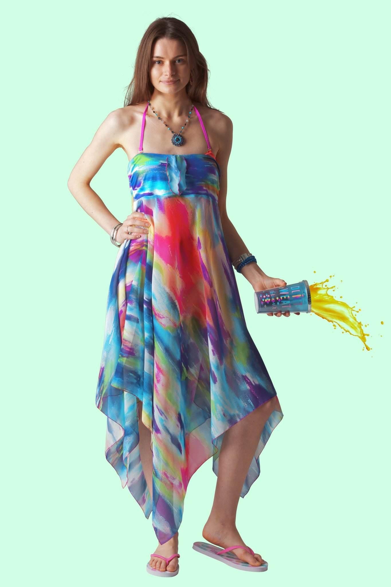 aeb051f9a9085 Purple Sky Sophie Sarongs Beachwear and swimsuit cover ups