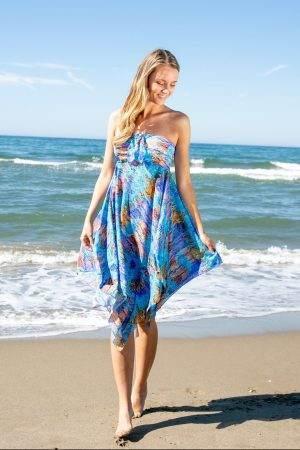 Turquoise Sea Sarong